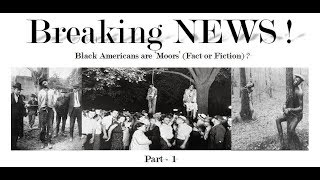 Proof: Black People are Moors - Hollywood's Secret of the United States Slavery !