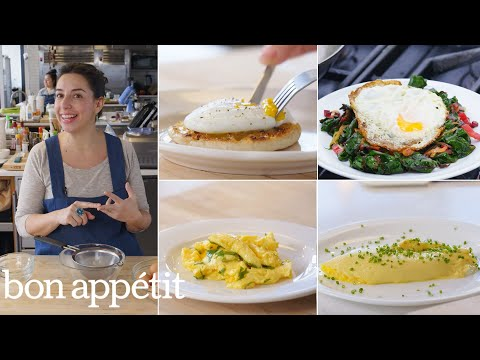 Carla Makes Eggs Four Ways Poached Fried Scrambled & Omelette d From the Test Kitchen