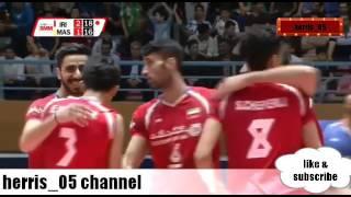 Volleyball world iran vs malaysia
