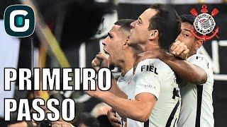 Corinthians 2 x 0 LAU | Briga de torcida chilena x PM- Gazeta Esportiva (06/04/17)