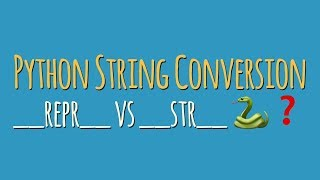 String Conversion in Python: When to Use __repr__ vs __str__