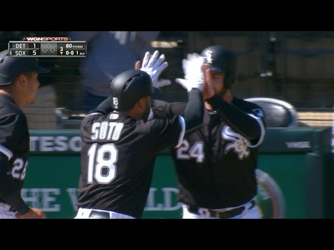 4/6/17: Soto leads Sox to 11-2 win with two homers