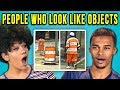 10 PHOTOS OF PEOPLE WHO LOOK LIKE OBJECTS w/ ADULTS (React)