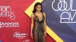 Teyana Taylor 2016 Soul Train Awards Red Carpet