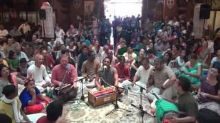 24 Kirtan @ New Vrindavan  Vishvambara Sheth   2016