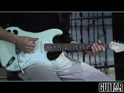 """John Mayer Teaches How to Play """"Crossroads""""  - IntroVerseSolo"""