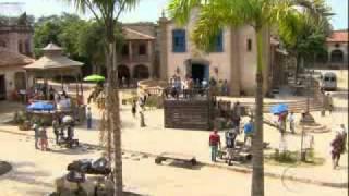 Cordel Encantado: Jesuíno é enforcado em praça pública making of