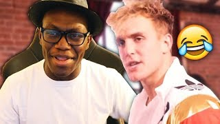 REACTING TO JAKE PAUL'S NEW SONG