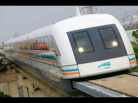 WORLDS FASTEST TRAINS MAGLEV capable of 3 500 km h