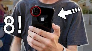 ECCO IL PROTOTIPO di iPhone 8 - Hands On!