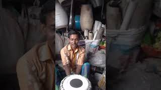 Suklal das One of the best tabla ,pakhayaz,sri khol maker in Bangladesh