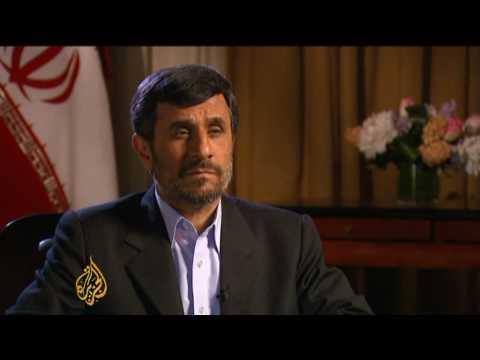 Mahmoud Ahmadinejad on Iran US relations