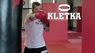 Работа на мешке с Андреем Басыниным — тренировка ударов руками в боксе
