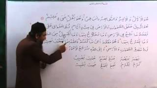 Arabic Course 40 by Sheikh Aamir Sohail Lecture 40 Urdu