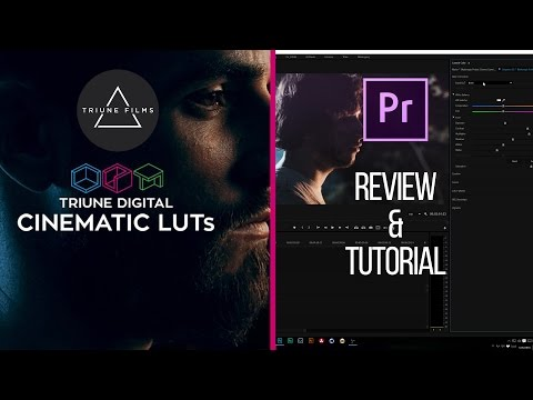 Triune Films Cinematic LUTs: Review and Color Grading/Correction Tutorial