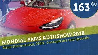 Tesla Model 3 Dual Motor in Paris - Elektroauto Premieren für 2019 - Mondial Paris Autoshow 2018