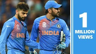 Virat Kohli keeps wickets to give MS Dhoni a one-over break