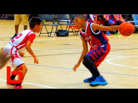 5th Grader Jaden Jones Has Ridiculous HANDLES & GAME For His Age