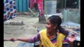 Adhata village little girl dance