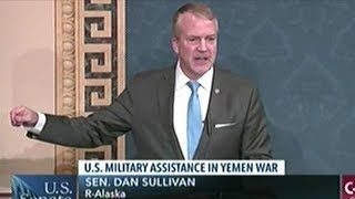 Senator Sullivan Says The War In Yemen Will Be Shorter And More Humane With The U.S. Involved!