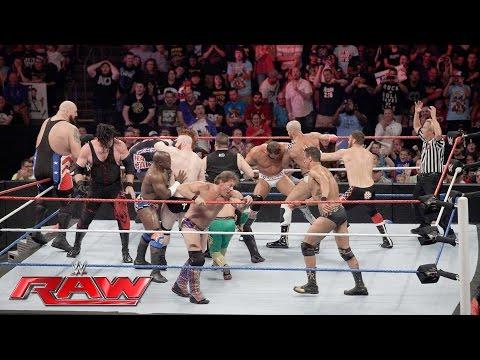 Team U.S.A. vs. The Multinational Alliance - 16-Man Elimination Tag Team Match: Raw, July 4, 2016
