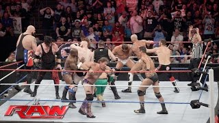 Team U.S.A. vs. The Multinational Alliance - 16-Man Elimination Tag Team Match: Raw, July 4, 2016
