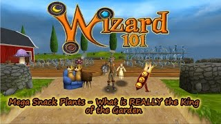 Wizard101 King of the Garden - A Step by Step Breakdown Couch Potatoes vs. Evil Magma Peas
