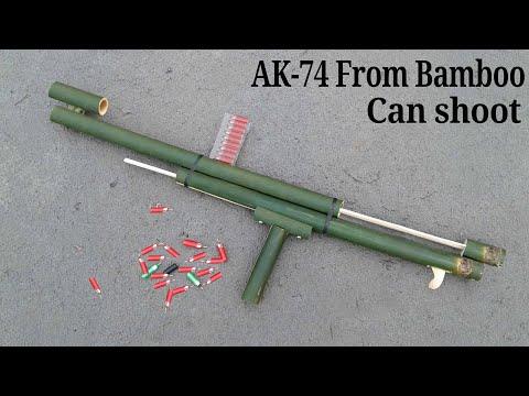 Xxx Mp4 How To Make A AK 74 GUN Using Bamboo 3gp Sex
