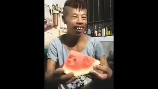 i can eat this watermelon in 1 second...