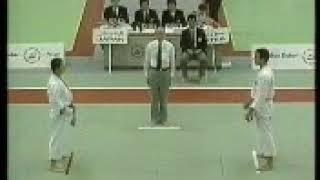 بطولة العالم للكاراتيه دبي 1990 وفوز عامر الحلبي البطل السوري للبطولة