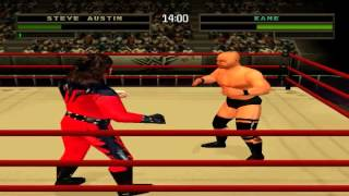 WWF/WWE Warzone - Part 1 - Challenge Mode With Stone Cold Steve Austin (PS1)