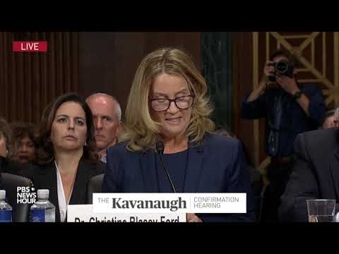 Xxx Mp4 Christine Blasey Ford S Opening Remarks At Kavanaugh Hearing I Believed He Was Going To Rape Me 3gp Sex