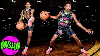 8th Grader Jeremiah Jenkins IN HIS BAG at the 2018 MSHTV Camp