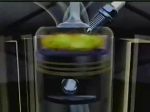Funcionamiento del motor de combustion interna 3d
