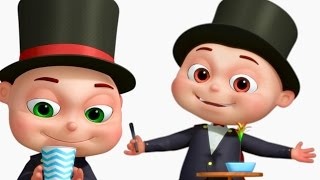 Five Little Babies Dressed As Magicians | Five Little Babies Collection |Cartoon Animation For Kids