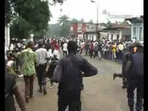 Congo Info Vidéo CIVI Spécial marche des étudiants à Kinshasa toujours à la seconde