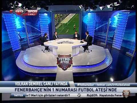 Volkan Demirel Röportaj TRTSPOR Futbol Ateşi 10.09.2012 www.fb-1907.com