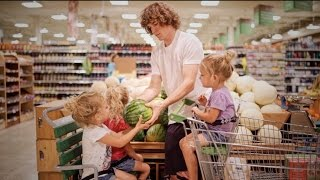 Grocery Shopping With The Triplets!