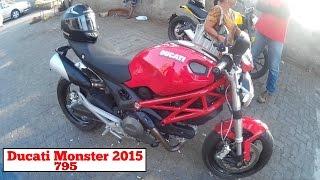 Ducati monster 795 | test ride | 2015
