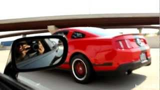 Procharged 5.0 Mustang vs Toyota Supra 71mm (HD)