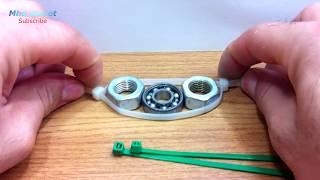 طريقة بسيطة جدا لصنع السبينر...MAKE A SPINNER IN 2 MINUTES