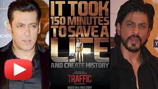 Salman Khan & Shahrukh Khan Promote Traffic Film 2016 | Manoj Bajpayee