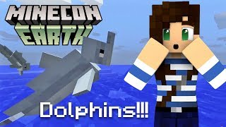 Dolphins Coming To Minecraft! (PE, Java, XBox, PlayStation) - Stacy's Top 5 MINECON Moments