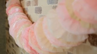 Coffee Filter Garland - Let's Craft with ModernMom