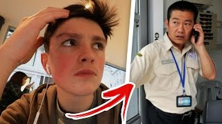 SECURITY KICKED US OUT FOR BEING YOUTUBERS!!! 😱😭 (Shopping in London)