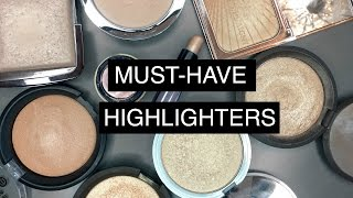 BEST HIGHLIGHTERS | Swatches & Comparisons
