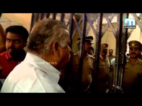 MV Jayarajan Kannur Police Station