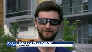 Viewing glasses a hot commodity ahead of Monday's total solar eclipse