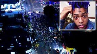 Cops Break Up Vigil for XXXTentacion in California Over