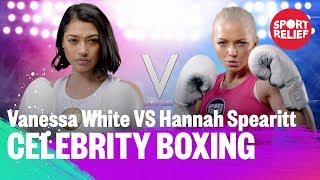 Vanessa White vs Hannah Spearitt | Celebrity Boxing - Sport Relief 2018 - BBC